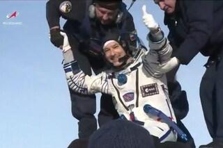 """Parmitano è tornato sulla Terra: conclusa la missione dei record """"Beyond"""""""