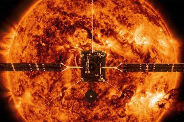 La sonda Solar Orbiter. Credit: ESA
