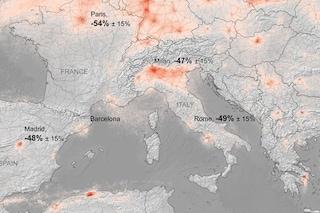 La pandemia di coronavirus ha dimezzato l'inquinamento in Europa