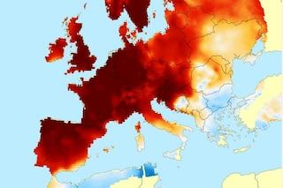 Cambiamenti climatici, il 2019 è stato l'anno più caldo della storia in Europa