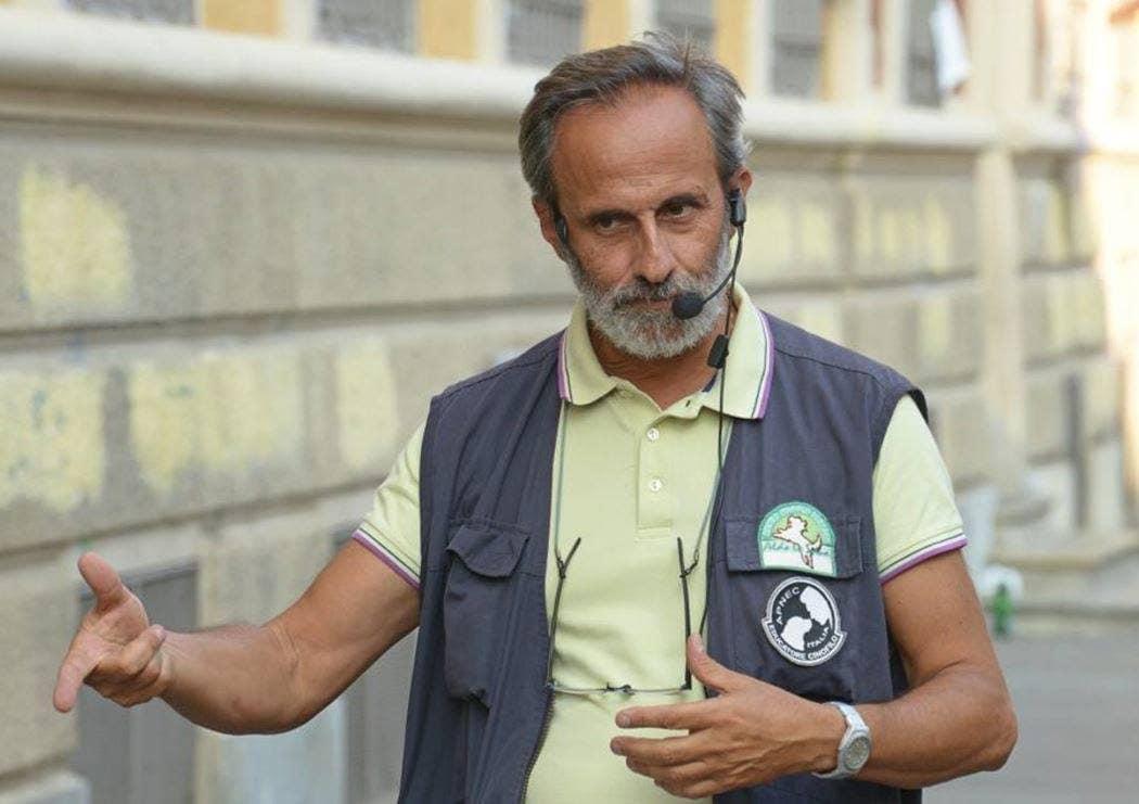 Aldo La Spina, educatore cinofilo e direttore tecnico del Medical Detection Dogs Italy