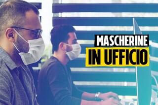 Indossare a lungo le mascherine fa male? Gli effetti collaterali in ufficio e quando si fa sport