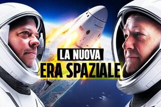 Perché con il lancio della Crew Dragon inizierà una nuova era spaziale