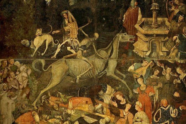Trionfo della Morte (1446), affresco staccato