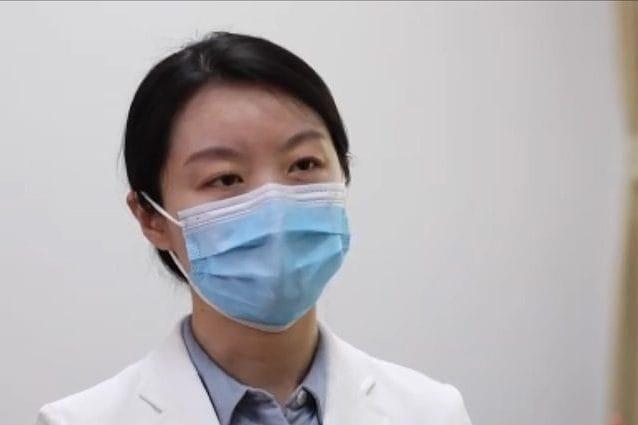 La direttrice dell'Istituto di Virologia di Wuhan, l'immunologa Wang Yanyi. Credit: CGTN (screenshot)