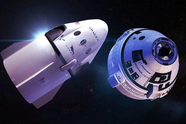 La capsula Crew Dragon