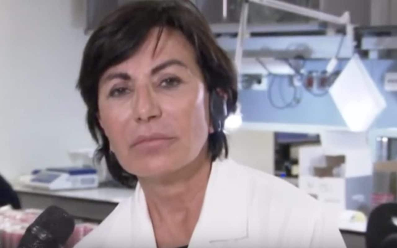 La virologa Maria Rita Gismondo