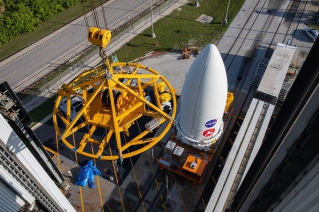 Il razzo Atlas V che porterà nell'orbita di Marte il rover Perseverance / Nasa