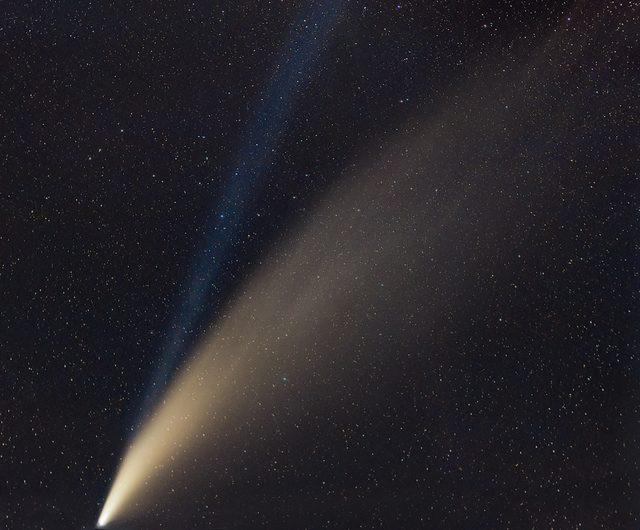 La cometa C/2020 F3 (NEOWISE). Credit: Alessandro Nobili