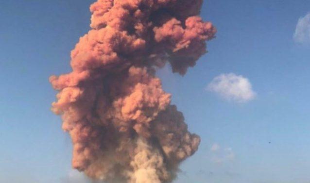 La nuvola di ossido d'azoto