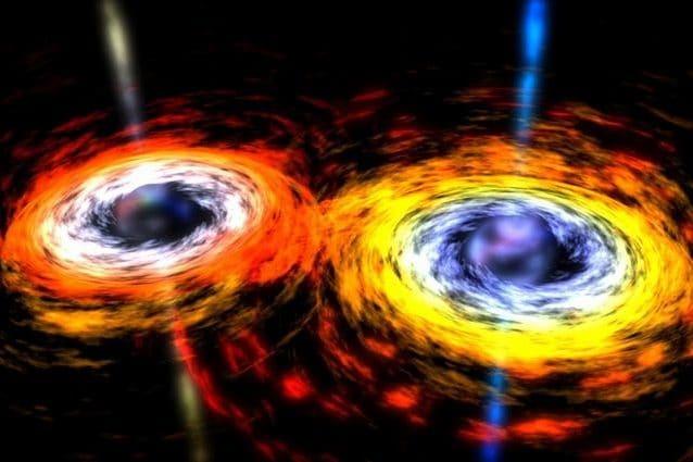"""Osservato raro evento di fusione tra tre coppie di buchi neri supermassicci: è la """"danza"""" dei quasar"""