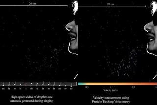 Un nuovo video mostra perché cantare durante la pandemia di Covid-19 non è una buona idea