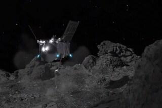 """Sonda NASA """"tocca"""" asteroide potenzialmente pericoloso e preleva campioni: perché sono così preziosi"""