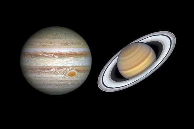 Il super allineamento tra Giove e Saturno che non succedeva da 800 anni: ecco quando guardarlo