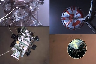 L'incredibile video della discesa di Perseverance su Marte: sono immagini mai viste prima