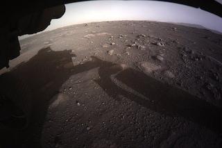 Il suono del vento di Marte catturato per la prima volta da Perseverance: ascoltatelo