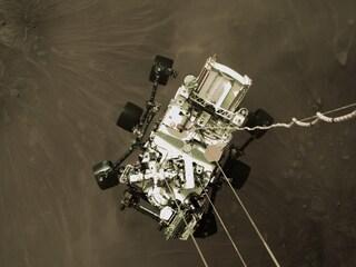 Ecco le prime immagini a colori di Marte scattate dal rover Perseverance della Nasa
