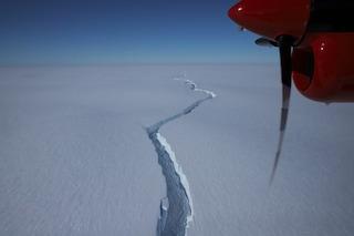 Questo video mostra la rottura di un iceberg grande quanto Roma dalla piattaforma glaciale antartica