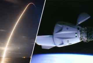 """La Crew Dragon è arrivata sulla ISS: è la prima navicella """"riciclata"""" di SpaceX"""