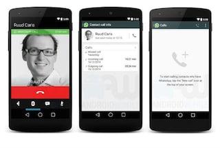 WhatsApp, ecco come potrebbero essere le chiamate vocali