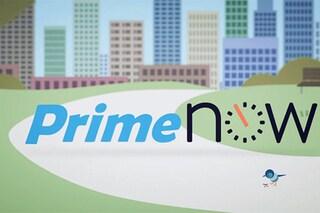 Amazon Prime Now, il nuovo servizio per consegne in un'ora