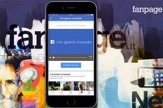 """Facebook, come creare il video """"Uno sguardo al passato"""" da iPhone e Android [GUIDA]"""