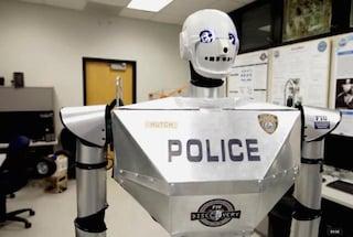 Nel 2016 i robot della polizia pattuglieranno le strade
