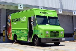Amazon, in arrivo camion per le consegne dotati di stampanti 3D