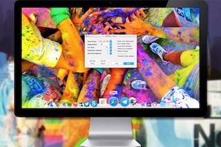 Come personalizzare il dock in Mac OS X 10.10 e attivare la modalità 3D