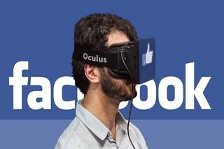 Facebook al lavoro su una versione dell'app per la realtà virtuale
