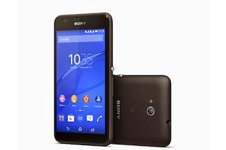 Sony Xperia E4g, il nuovo smartphone Android con connettività 4G e NFC