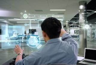 L'ufficio del futuro? Ologrammi, droni e robot