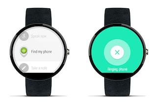 Android Wear permette di ritrovare lo smartphone