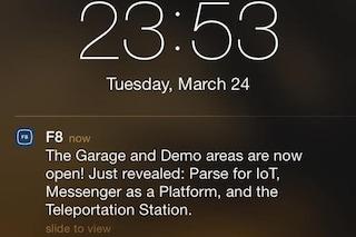 Facebook Messenger sarà una piattaforma, la conferma dall'app della conferenza F8