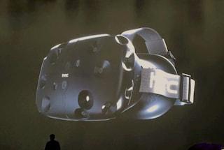 RE Vive, il visore per la realtà virtuale di HTC e Valve