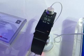 TalkBand B2, anteprima e caratteristiche tecniche della nuova fitband di Huawei