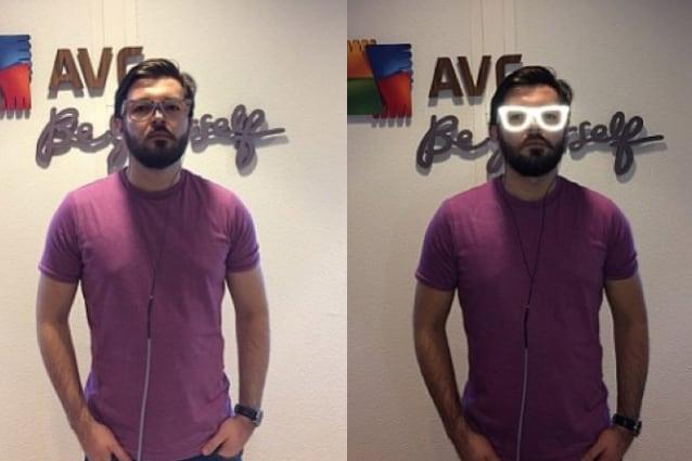 occhiali privacy