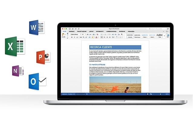 7d2573019 L'ultima versione di Office per Mac risale al 2011 ed ora il colosso di  Redmond torna su computer Mac con questa versione preview che è possibile  scaricare ...