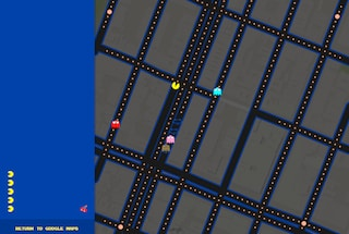 Pac Man su Google Maps, il pesce d'aprile di Big G