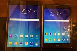 Galaxy Tab A e Galaxy Tab 3 V, tre nuovi tablet Samsung