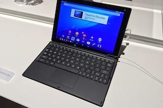 Sony Xperia Z4 Tablet, anteprima e tutte le caratteristiche tecniche ufficiali