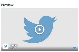 Twitter, aggiunta la possibilità di incorporare video nei siti web