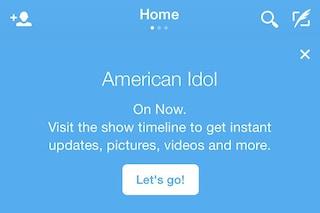 Twitter sperimenta la TV Timeline