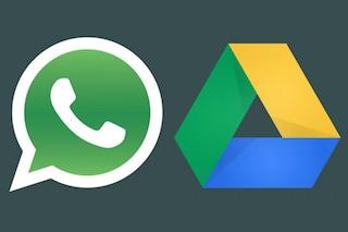 WhatsApp, presto sarà possibile archiviare foto, video e conversazioni su Google Drive