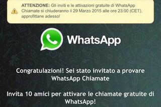 WhatsApp, attenzione alle truffe: falsi link per attivare le chiamate vocali