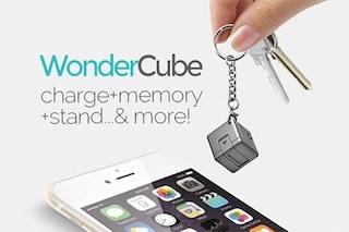 WonderCube, il cubo multifunzione per lo smartphone