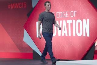 """MWC 2015, Zuckerberg loda gli operatori: """"Non stiamo uccidendo la telefonia"""""""
