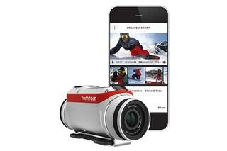 TomTom presenta un'action camera: ecco Bandit
