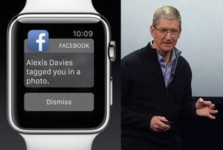 Apple Watch, la mancanza dell'applicazione di Facebook fa arrabbiare gli utenti