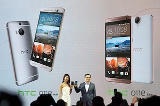 HTC presenta ufficialmente i nuovi One M9+ e One E9+